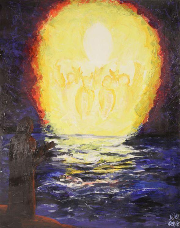 Apokalypse des Johannes; Acryl