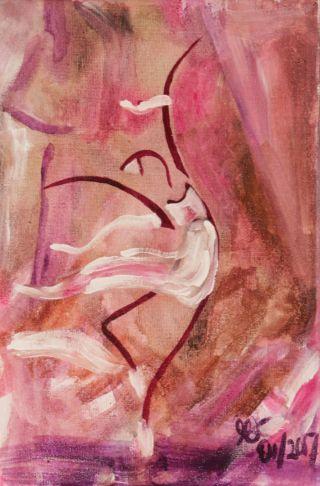 Komposition 2; Acryl