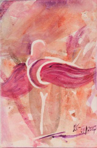 Komposition 1; Acryl